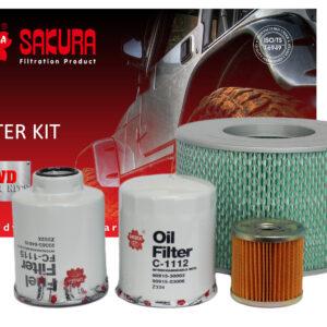 K-11030 4WD Filter Kit